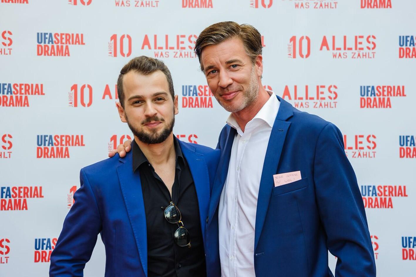 Michael Jassin und Lars Korten (r.)