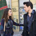 Von Gerner unter Druck gesetzt, greift David (Philipp Christopher) zu einem drastischen Mittel, um Ayla (Nadine Menz) zu schützen... (Quelle: RTL / Rolf Baumgartner)