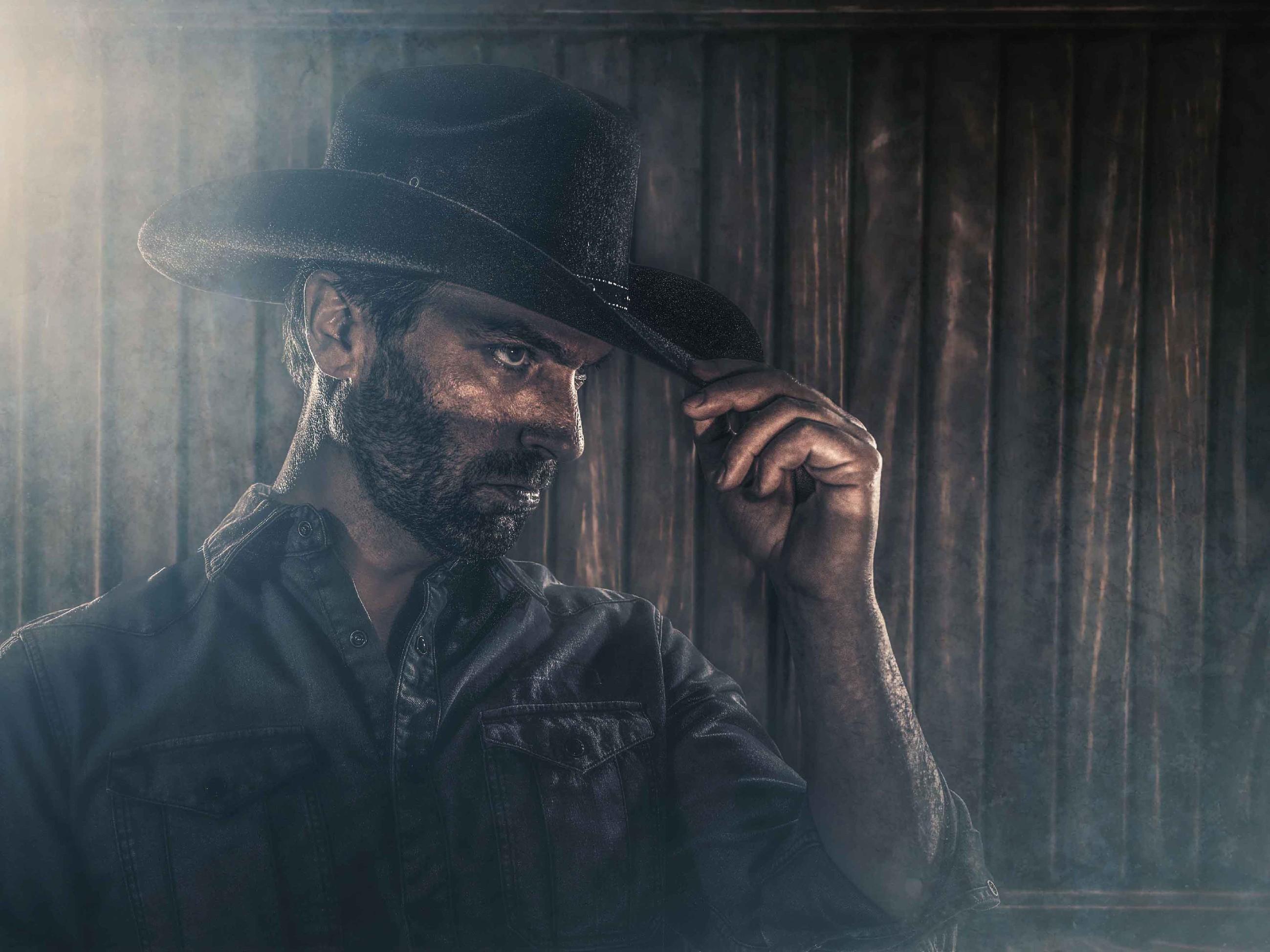 Daniel Brockhaus als Cowboy
