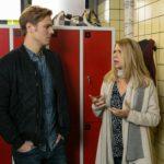 Diana (Tanja Szewczenko) ist geschockt, als Brandon (Rhon Diels) seinen Auftritt canceln will. (Quelle: RTL / Kai Schulz)
