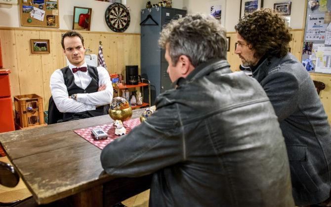 Sturm der Liebe Vorschau Folge 2609 ♥ Bekommen sich David und Oskar in die Haare?