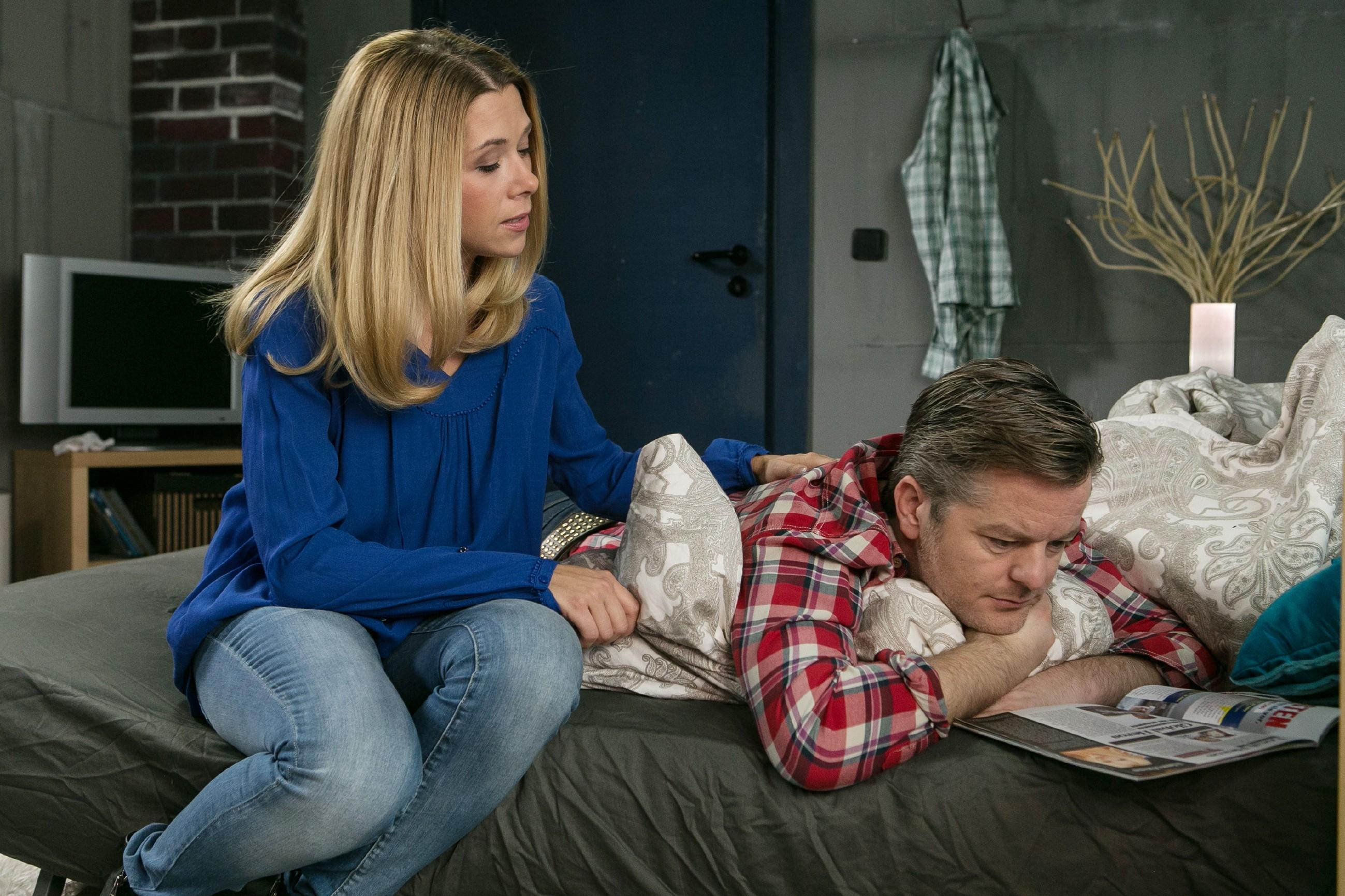 Ingo (André Dietz) stellt sich darauf ein, dass er wieder an Krebs erkrankt ist und stößt Diana (Tanja Szewczenko) von sich - der Plan zu heiraten und gemeinsam alt zu werden, existiert für Ingo nicht mehr...