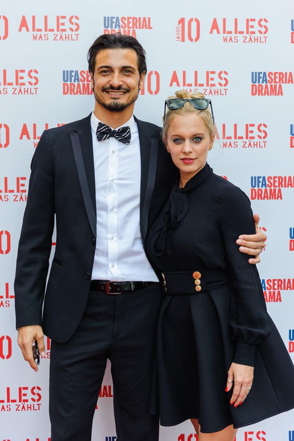 Salvatore und Juliette Greco