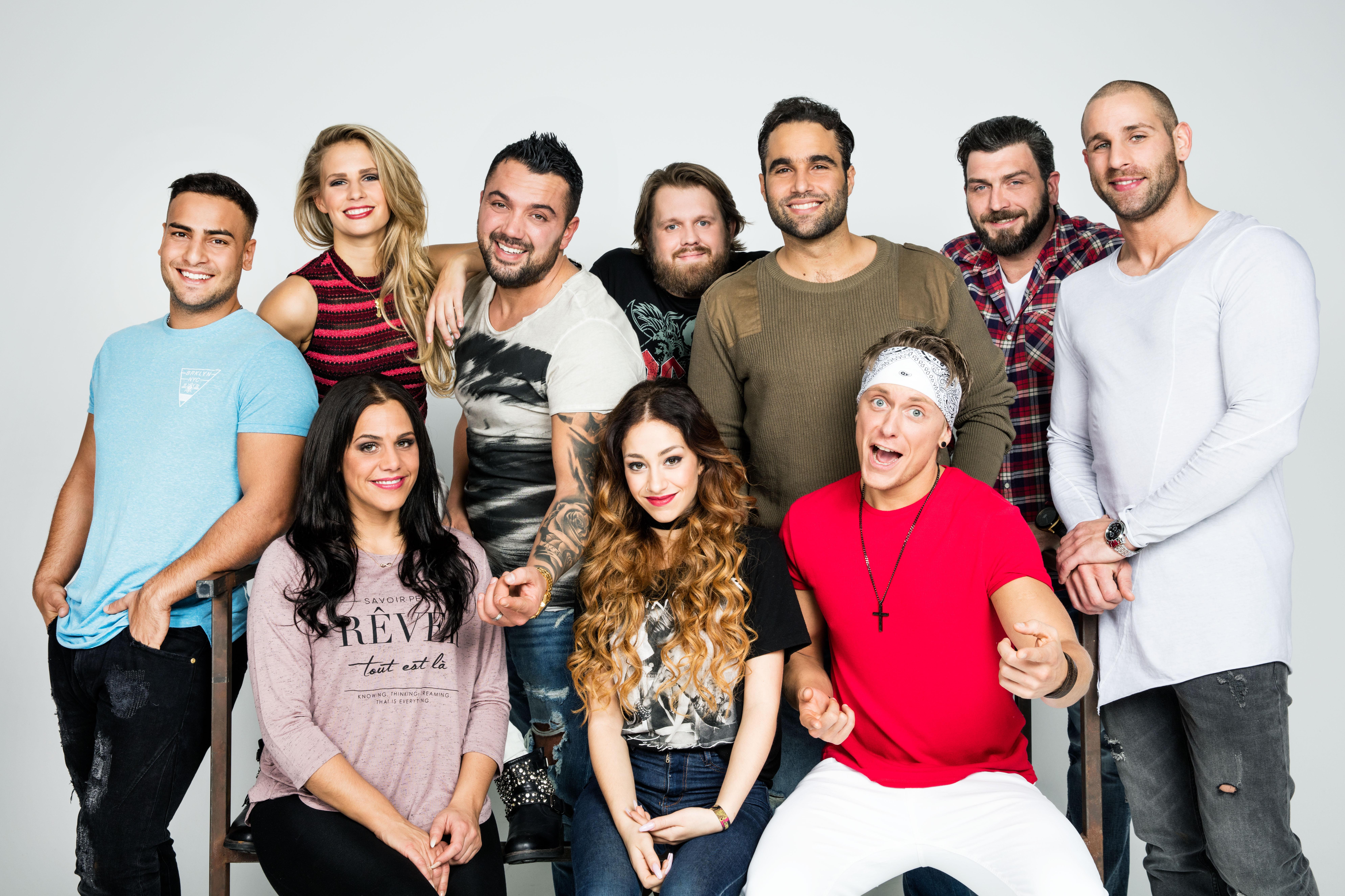 oben v.l.n.r.: Cem, Jule, Manu, Jan, Diego, Alex, Patrick; unten v.l.n.r.: Sophia, Elli, Kevin