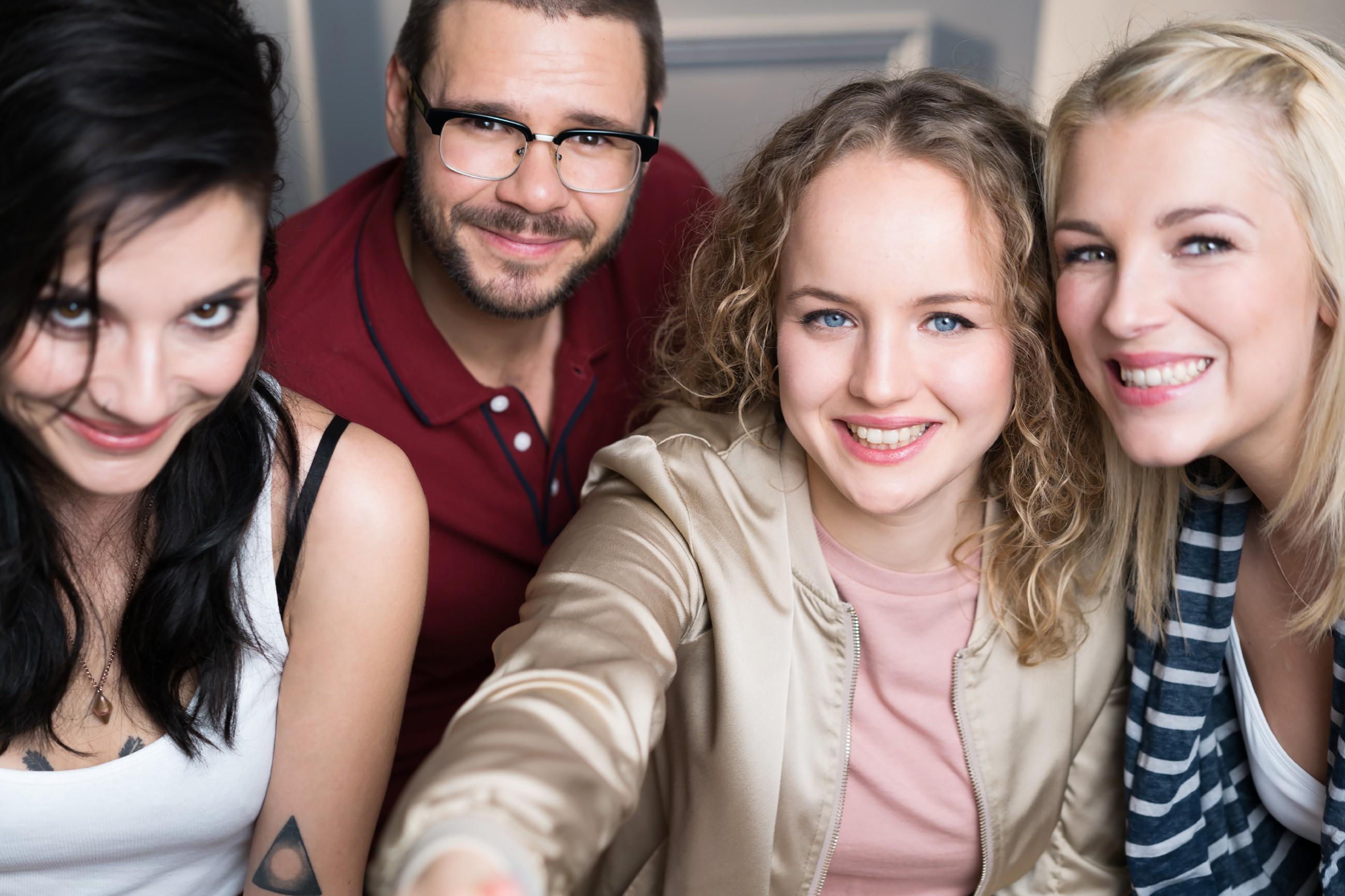 V.l.: Linda Marlen Runge, Thomas Drechsel, Luise von Finckh, Iris Mareike Steen
