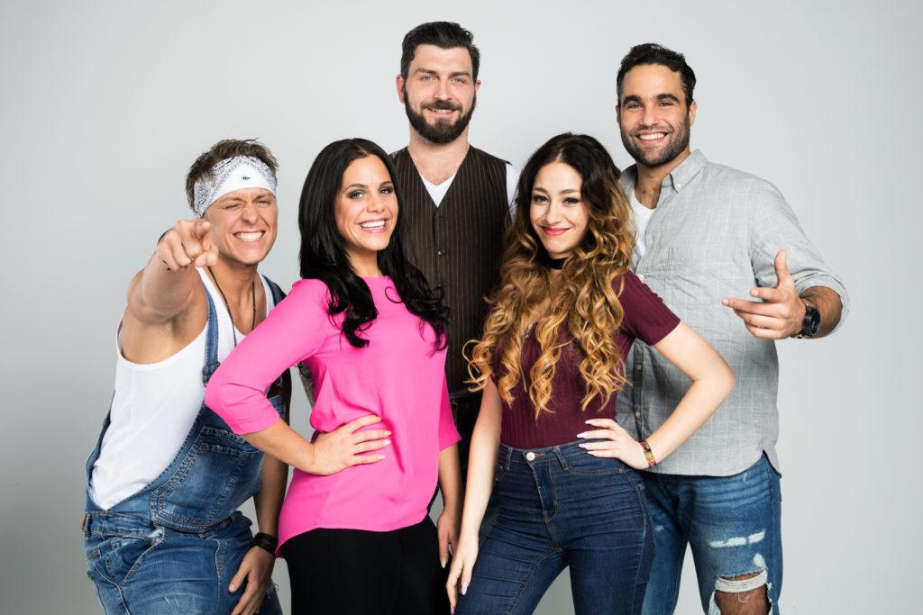 v.l.n.r.: Kevin, Sophia, Alex, Ellii, Diego