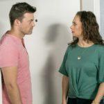 Ben (Jörg Rhode) gibt Carmen (Heike Warmuth) keine Chance, sich zu erklären.(Quelle: RTL / Kai Schulz)