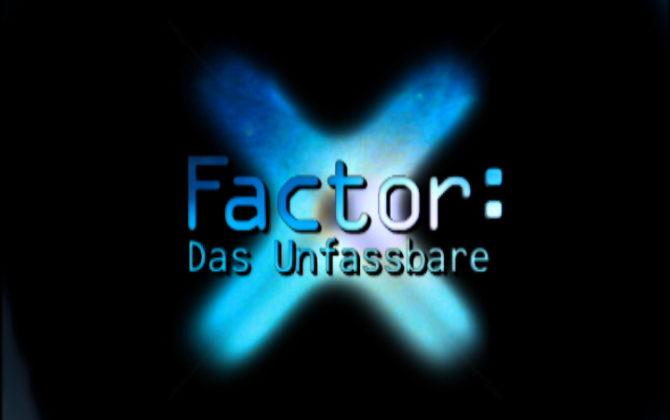 X-Factor: Das Unfassbare Vorschau Folge 44 Ein Wissenschaftler filmt Geister mit einer Spezialkamera
