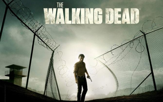 The Walking Dead Vorschau Folge 104 Gabriel und Negan können sich zwar aus dem Container retten, sind aber umzingelt von hungrigen Beißern