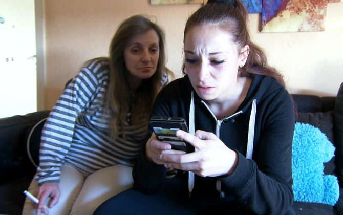 Hartz und herzlich – Tag für Tag Benz-Baracken Vorschau Folge 17 Saskia und ihre Mutter Simone haben ständig Streit